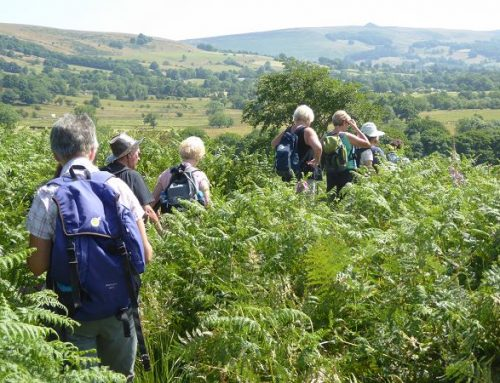 Circular walk around Castleton